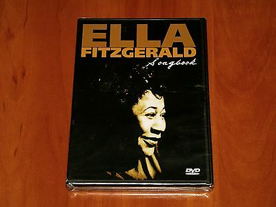 ELLA FITZGERALD DVD SONGBOOK LIVE IN CONCERT RARE PERFORMANCE & BIOGRAPHY New