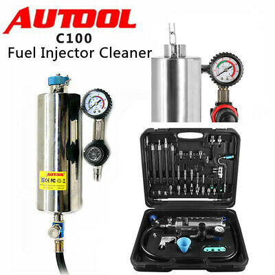 AUTOOL C100 Automotive Non-Dismantle Fuel Injector Cleaner for Petrol Vehicle