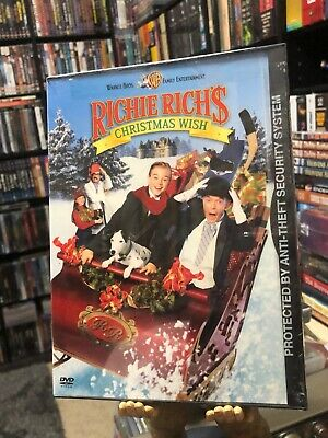 Richie Rich's Christmas Wish (DVD) David Gallagher, Martin Mull, BRAND NEW!