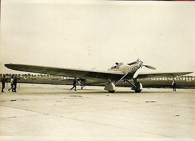 """Avion DEWOITTINE (TRAIT D'UNION n°2) 1931"" Photo originale G. DEVRED (Agce ROL)"