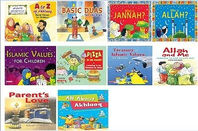 Moral Values Series for Children: Islamic Kids 10 Stories Books Read & Learn