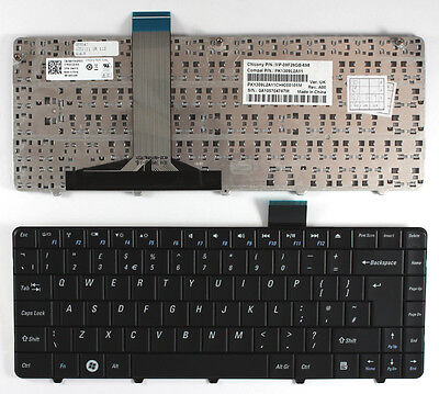 Dell Inspiron 1110 Black UK Layout Replacement Laptop Keyboard