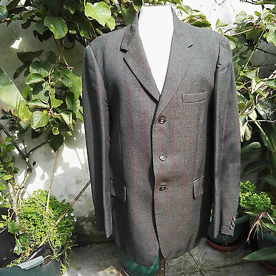 Suit,1950's Vintage, 2 Piece, Single Breasted, by Meakers Piccadilly London