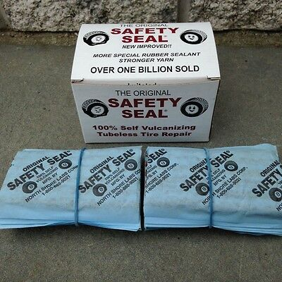 Safety Seal Tire Plugs-(4) Boxes ($15.95 Per Box) 60 Plugs In Box, 4''(Brown)