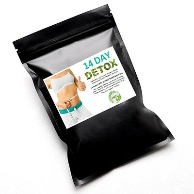 New 14 Day Detox Tea Colon Cleanse  Weight Loss Diet Laxative Skinny Me Mint