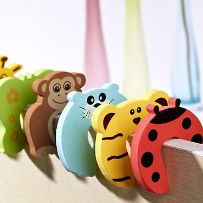 10PCS Door Damper Rubber Stopper Doorstop Finger Protection for Baby Safety