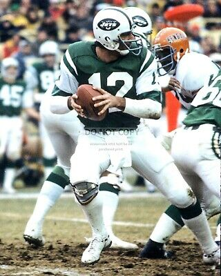 Joe Namath Legendary New York Jets Quarterback - 8X10 Sports Photo (Az078)