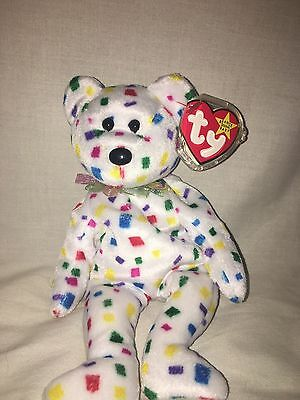 2000 Ty 2k Beanie Baby Bear in Mint Condition!