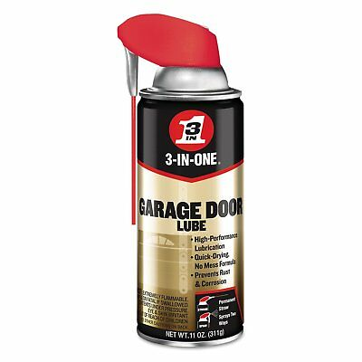 3-IN-ONE 100584 Professional Garage Door Lubricant Spray 11 oz (Pack of 1)