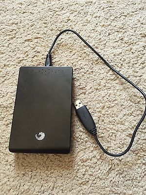 Seagate FreeAgent GoFlex 750GB Travel Portable USB External Hard Drive Memory