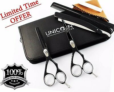 """Professional Hair Cutting/Thinning Scissors Barber Shears Hairdressing Set 5.5"""""""