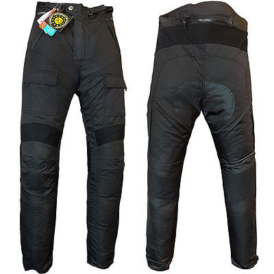 Mens Textile Cordura Motorcycle Motorbike Ce Approved Pants Trousers- All Sizes