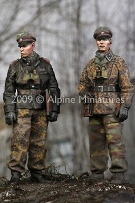 Alpine Miniatures 1:35 WWII German LAH in the Ardennes 2 Resin Figure Set #35077