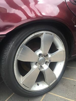 """4 Ford FPV GT P GTP F6 Falcon Typhoon Tickford Alloy Wheels 18"""" inch RIMS Tyres"""