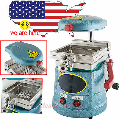 USA STOCK Dental Lab Vacuum Forming Molding Machine Former Heat Thermoforming