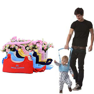 Infant Baby Kid Prewalker Toddler Walking Assistant Trainer Safety Harness Belt