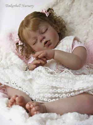 Arianna Sleeping Doll Kit By Schick To Make Reborn Baby ***free Postage On Extra