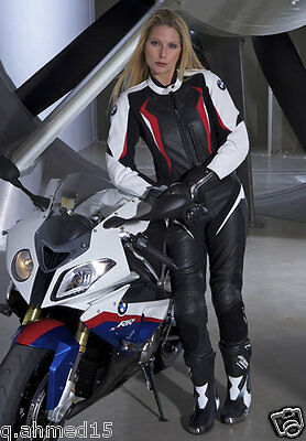 Women BMW Motorcycle Leather Suit Biker Leather Suit Motorbike Men Leather Suits