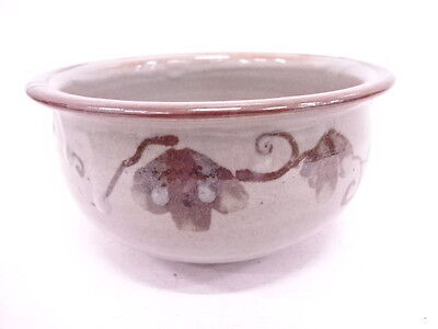 Japanese Tea Ceremony / Kensui (Slop-Basin) / Iron Brown Painting / Arabesque