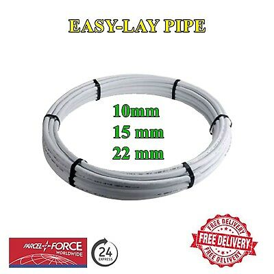 SALE! Pushfit Easy-Lay barrier pipe 10/15/22mm /Hep20/polypipe compatible pipe