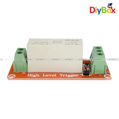 1 Channel SSR Solid State Relay High-low Trigger 5A 3-32V For Arduino Uno R3