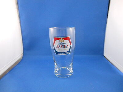 Molson Canadian Beer Glass