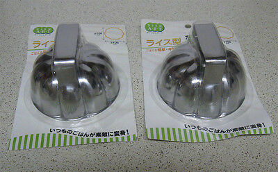 2 Pcs New XL Food Molds Jelo Gelatin Pudding  w/ Handle