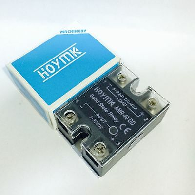 AMR-40DD 40A 3-32VDC/5-220VDC AMR-40 DD Solid State Relay pack of 1