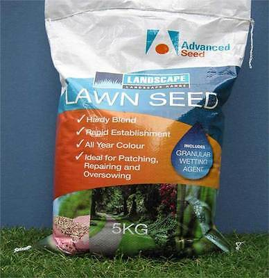 All Seasons Kikuyu & Rye Lawn / Grass Seed Blend Turf Grass Seed 1 kg -10kg