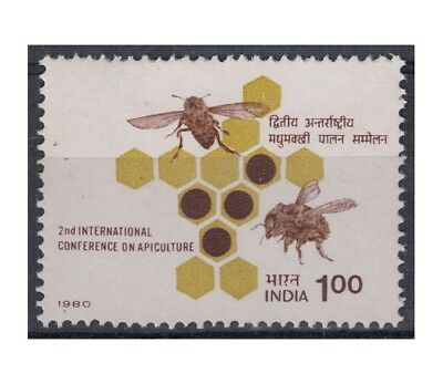 INDIA 1980 Conferenza sull'apicoltura 1v MNH**