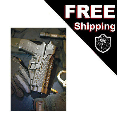 BLACKHAWK Serpa GLOCK Level 3 Xiphos Light Bearing Duty Holster Right 44H500BW
