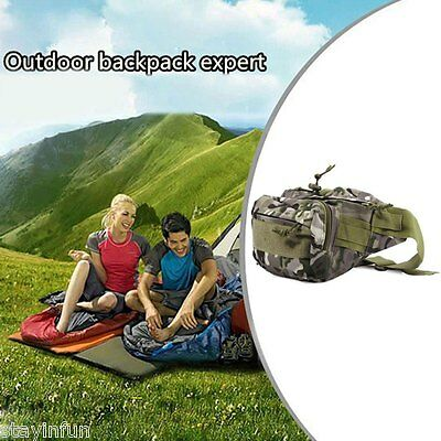 Tactical Waist Pack Pouch Molle Military Army Camping Hiking Outdoor Travel