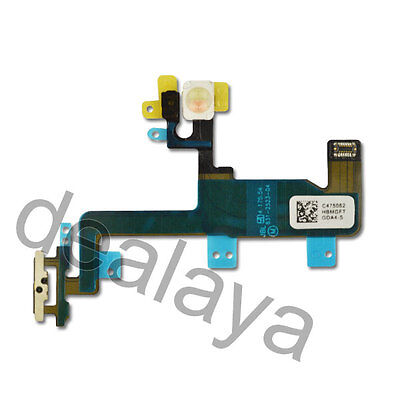 "For iPhone 6 4.7"" On Off Power Mic LED Flex Cable Ribbon Replacement Switch"