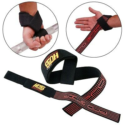 Weight Lifting Gym Bar Straps Training Wrist Support Gym Gloves Pro-Grip HG-611