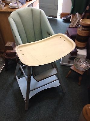 vintage childs high chair • £30.00