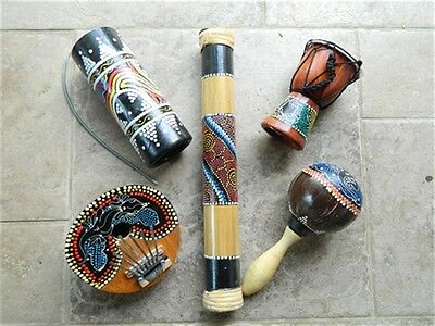 Percussion Musical Instruments In Assorted Designs.