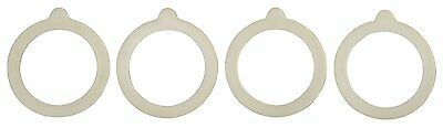 HIC Silicone Replacement Gasket Seals, Fits Regular, HIC Harold Import Co.[9924]