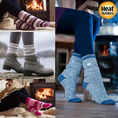 Heat Holders - Womens Ladies Winter Warm Thick Colorful 2.3 TOG Thermal Socks