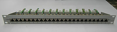 "Telegärtner Patchpanel CAT.6  / 19"" / 24-Ports"
