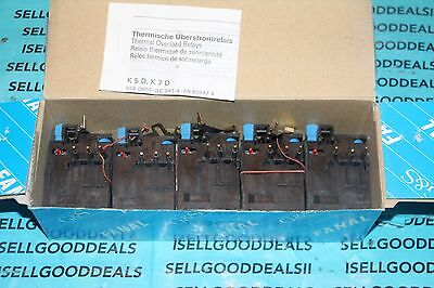 (5) Fanal 010149338 Overload Relay K7D 0.7-1.1A New