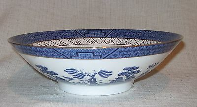 Royal Doulton Booths Real Old Willow Round Vegetable Serving Bowl