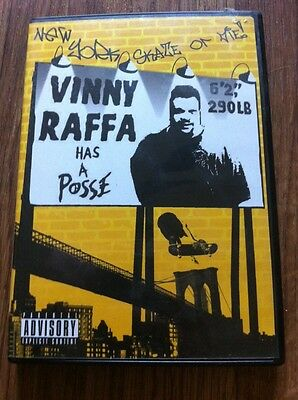 Skateboard Video dvd VINNY RAFFA HAS A POSSE + Soundtrack Disc FREE SHIPPING!