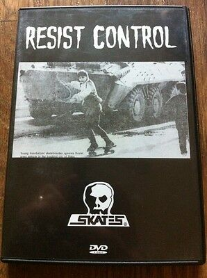 Skateboard Video dvd RESIST CONTROL By Skull Skates -  FREE SHIPPING!