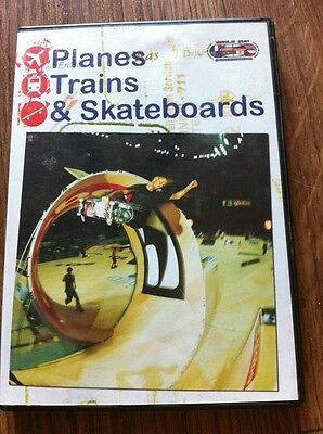 Skateboard Video dvd - Planes Trains & Skateboards - FREE SHIPPING!