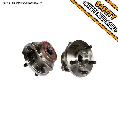 2 NEW Front Wheel Hub Bearing Assembly JEEP GRAND CHEROKEE COMANCHE WRANGLER TJ
