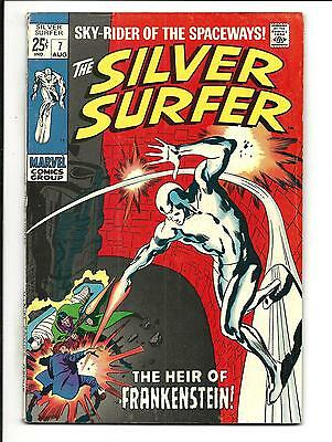 SILVER SURFER # 7 (68pg GIANT, AUG 1969), FN