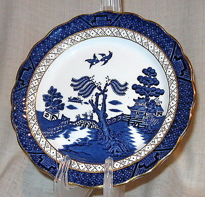"Booths Real Old Willow 6 3/4"" Bread Plate"