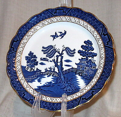 "Booths Real Old Willow 7 5/8"" Dessert Plate"