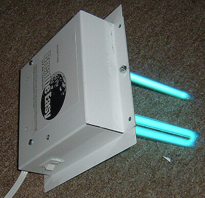 UV Lamp AC Duct. Light  air cleaner ultraviolet dual lamp double bulb uvc