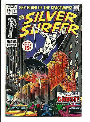 Silver Surfer # 8 (Sept 1969), Fn-